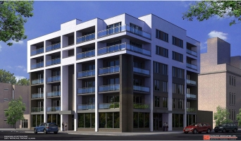<h5>228 S Racine Ave Chicago IL . Development of 20 unit building</h5>