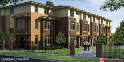 <h5>7820 Madison, River Forest IL. Development of 29 town homes</h5>